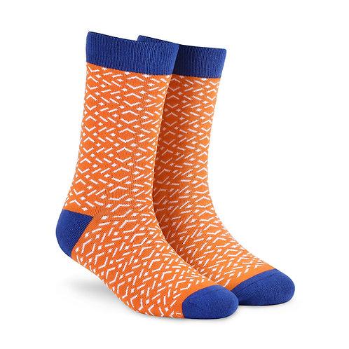 Dynamocks Savvy Excellence Socks | India | Tangy Crew Length Socks R