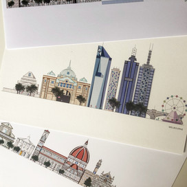 Meghan Buckley, Illustrator, Creator & Sole Owner of MegsCuriocity reviews Double-Sided Test Pack