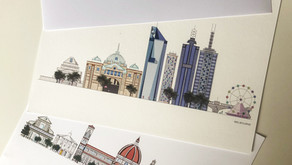 Meg Buckley, Illustrator, Creator & Sole Owner of MegsCuriocity reviews Double-Sided Test Pack
