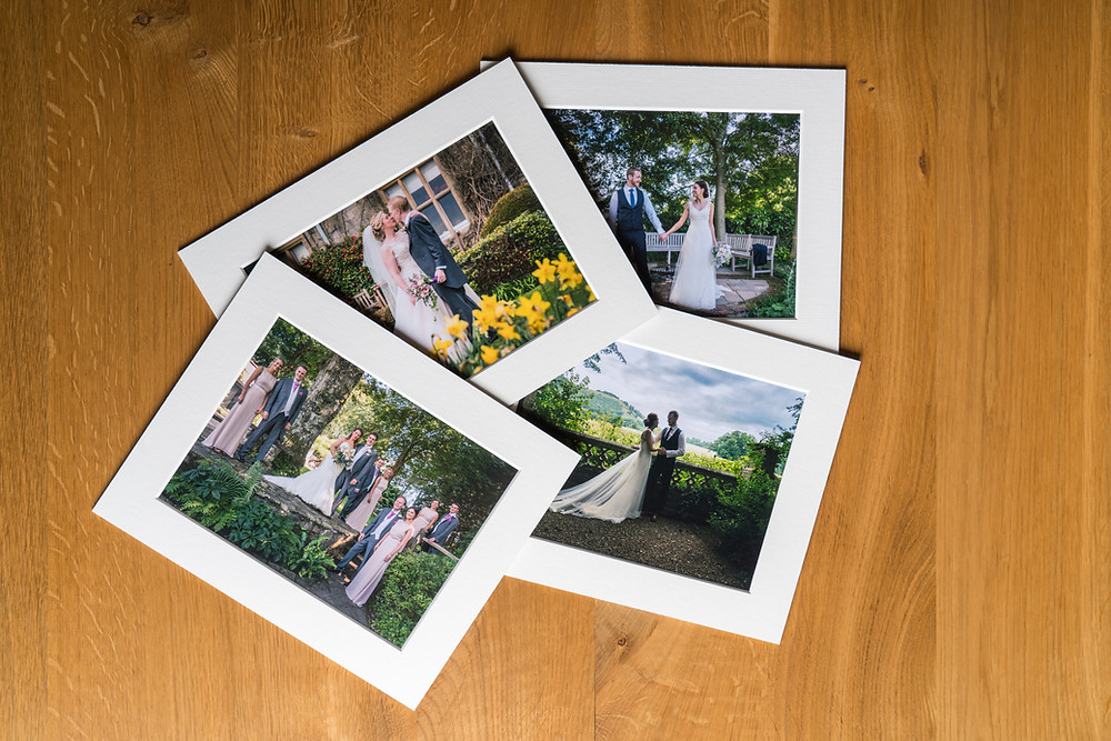 Lisa Beaney's wedding prints on PermaJet Portrait Rag