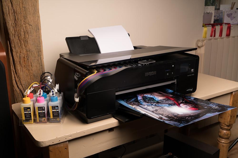 Printing on the Epson SC-P600