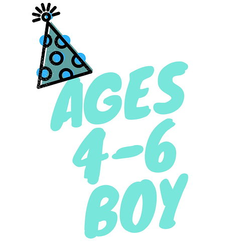 Birthday BOOK Box (Boy: Ages 4-6)