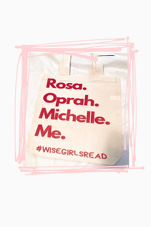 RED Wise Girl TOTE