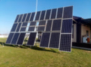 солнечная электростанция в эко поселении