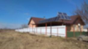 Солнечная электростанция дома