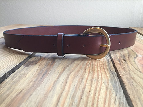 Sheik Leather Belt with Custom Options