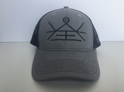 Grey CWH Mesh Back Hat
