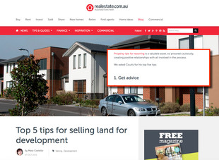 Maximise Profit When Selling Land For Development