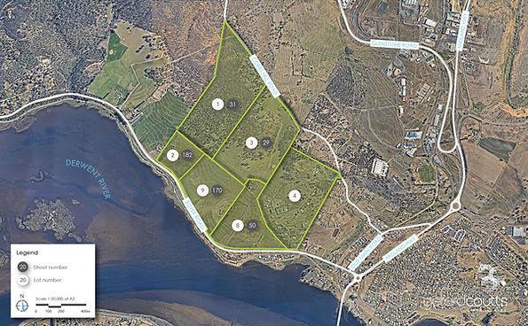 Boyer Cobbs Hill Allotment Map