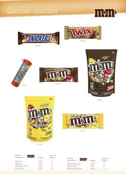Snickers - Twix Bar - M&M