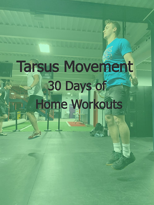 30 Days of Home Workouts