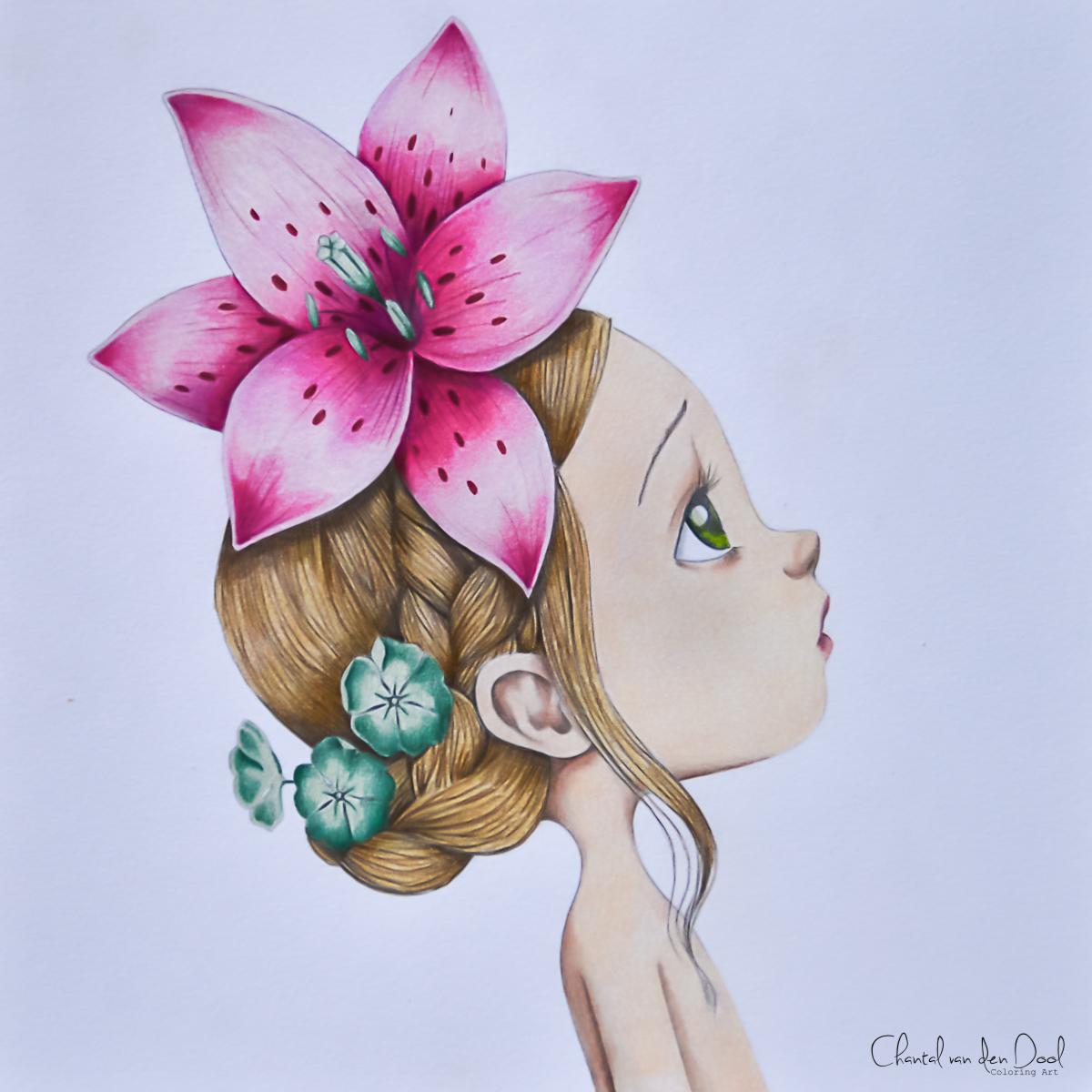 Emanuelle Colin Coloringbychantal
