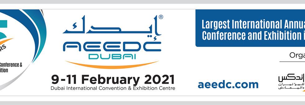 AEEDC2021 Online Advert Web Banner for I