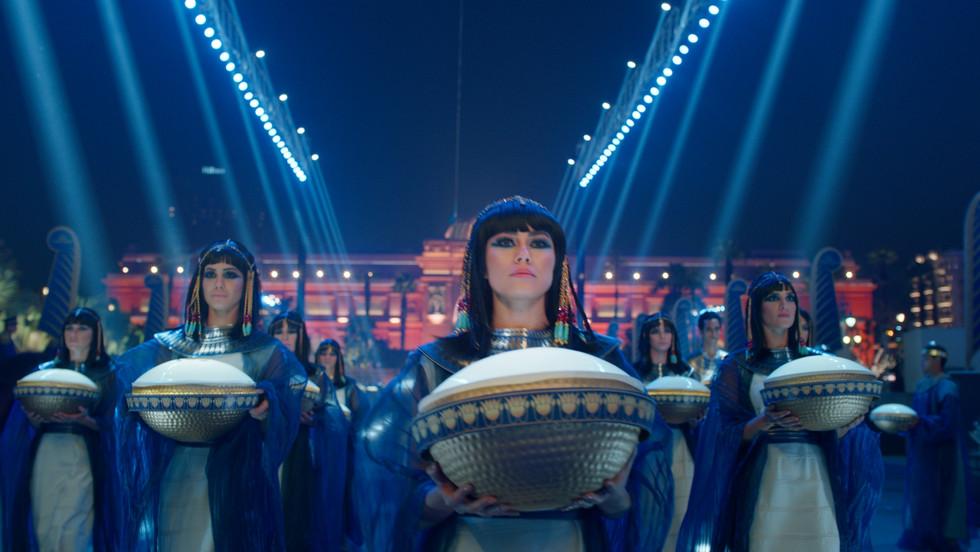 The Pharaoh's Golden Parade