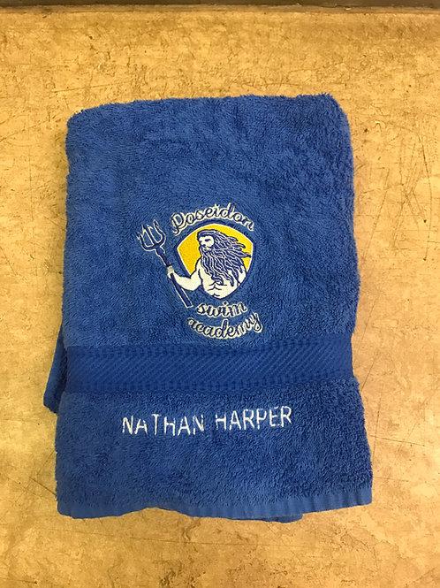 Poseidon Swim Academy towel