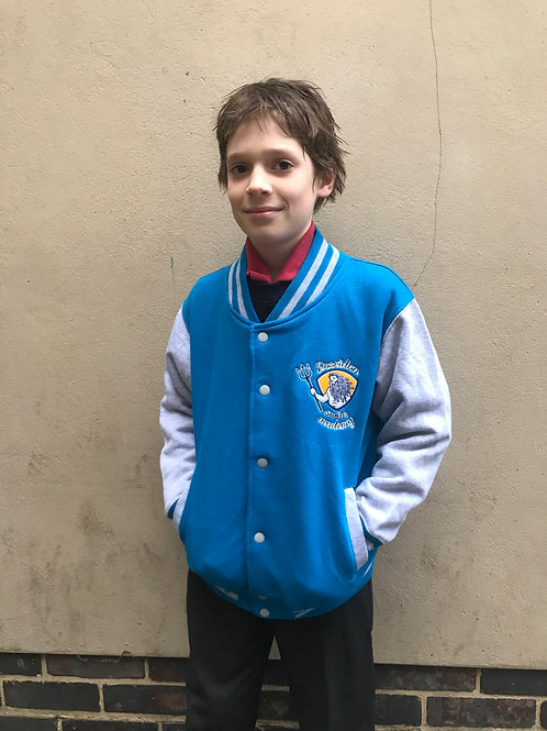 Poseidon Swim Academy Varsity Jacket