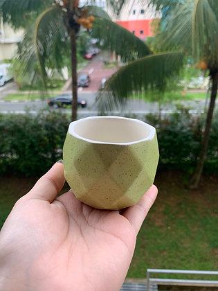 Pot #107 (light green)