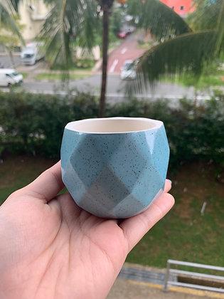 Pot #105 (blue)