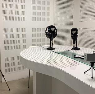 Estudio de radio y grabación