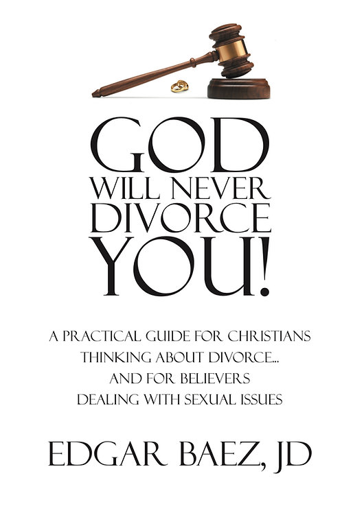 God Will Never Divorce You! Hard Cover