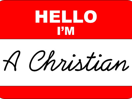 """Copy of Are you a """"Christian"""" or Christ-Centered?"""