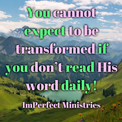 ImPerfect Ministries Transformation