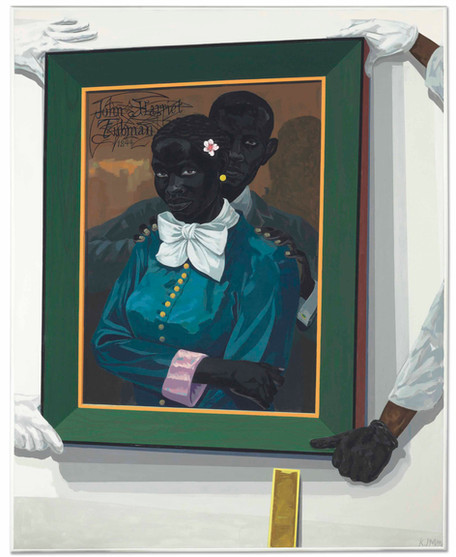 Still Life With Wedding Portrait by Kerry James Marshall