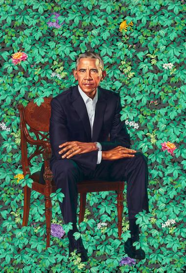 President Barack Obama by Kehinde Wiley