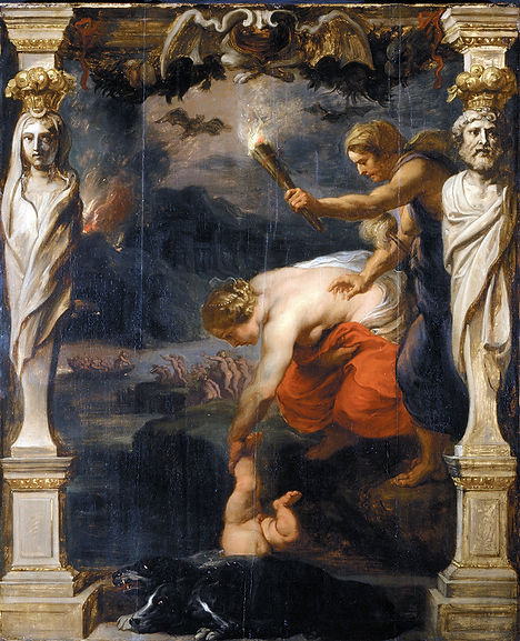 Achilles Dipped in the River Styx