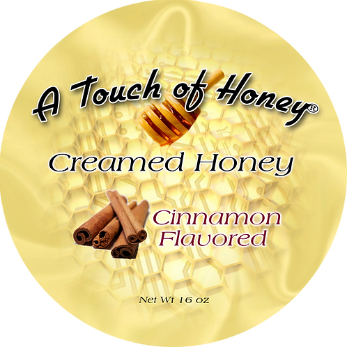 Cinnamon Flavored Creamed Honey