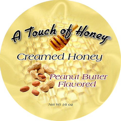 Peanut Butter Flavored Creamed Honey