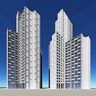 Bassac River Twin Towers Proposal