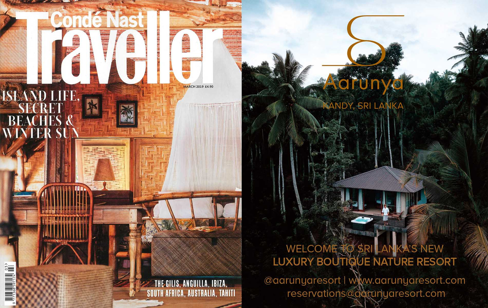 Conde Nast Traveller March 2019