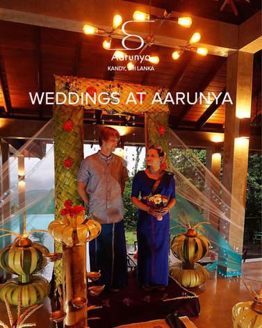 Weddings at Aarunya