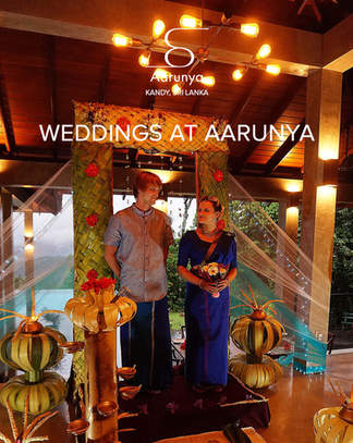 Weddings & Events at Aarunya