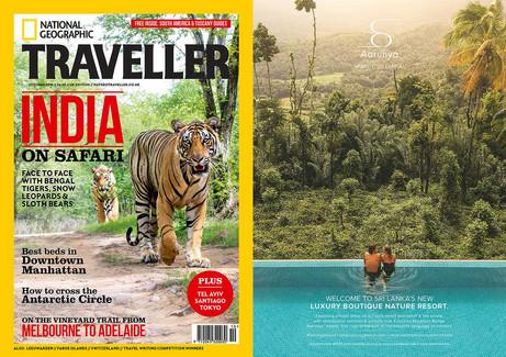Aarunya Resort As Seen in National Geographic Traveller (United Kingdom) October 2018 Issue.