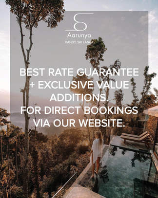 Aarunya Website Direct Booking Best Rate Guarantee & Value Additions