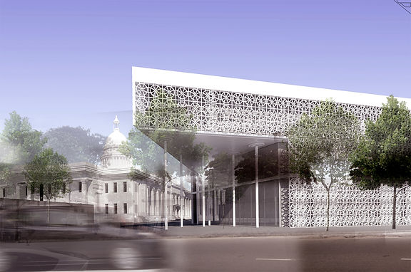 Colombo Municipal Council Offices - Competition first place