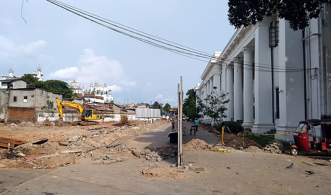 Construction commences on the Colombo Municipal Council Offices!