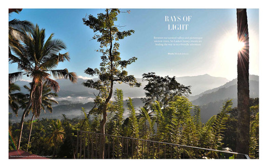 Tempus Magazine UK Jan 2019 Feature Article 'Rays of Light' Page 1