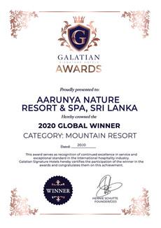 Mountain Resort 2020 Global Winner