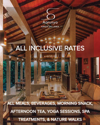 Aarunya's All Inclusive Package Rates