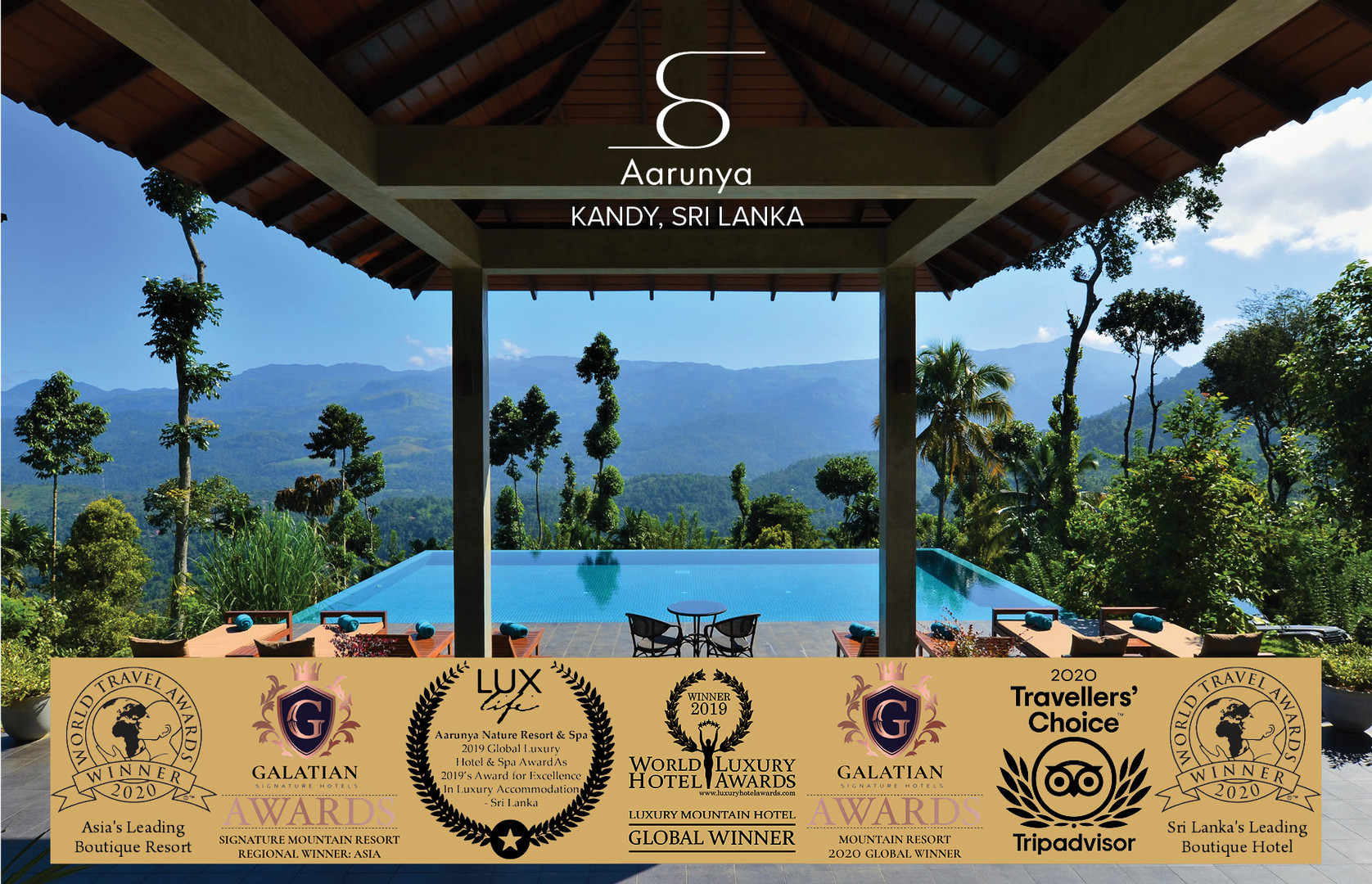 Aarunya is a Global Award Winning Hotel Resort