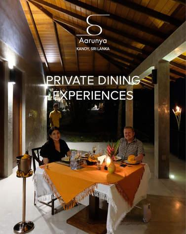 Aarunya Private Dining Experiences