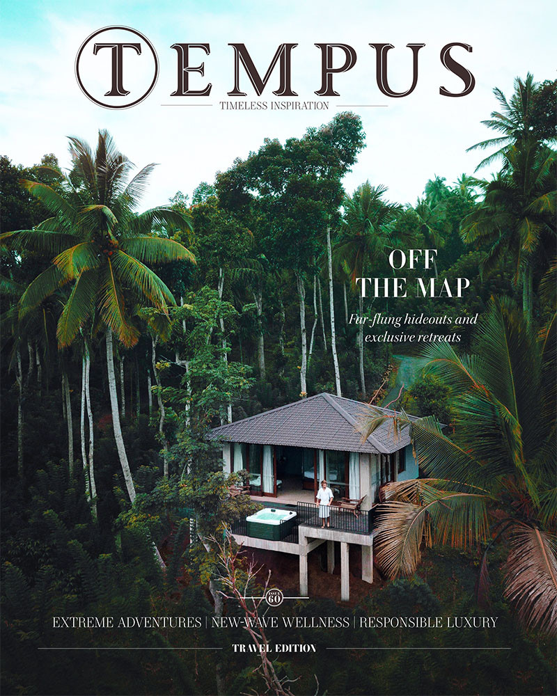 Tempus Magazine UK Cover Jan 2019