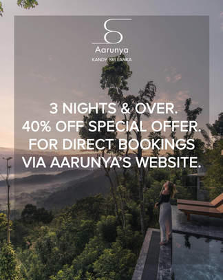 3 Nights & Over - 40% Off Special Offer