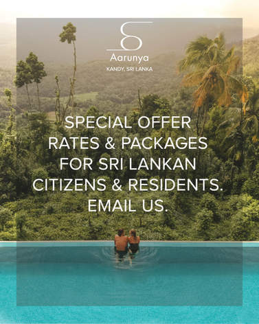 Special Offers for Sri Lankan Citizens & Residents