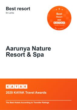 2020 KAYAK Travel Awards - Best Resort in Sri Lanka