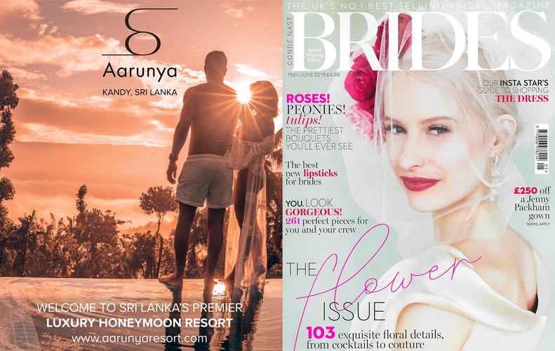 Conde Nast Brides Magazine May 2019