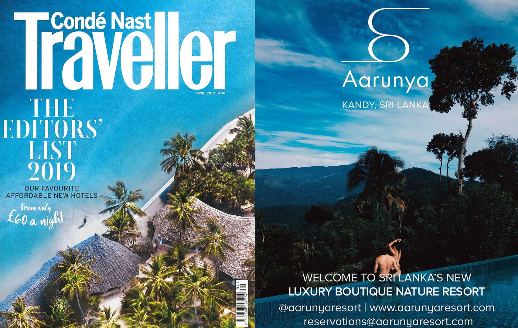 Conde Nast Traveller April 2019